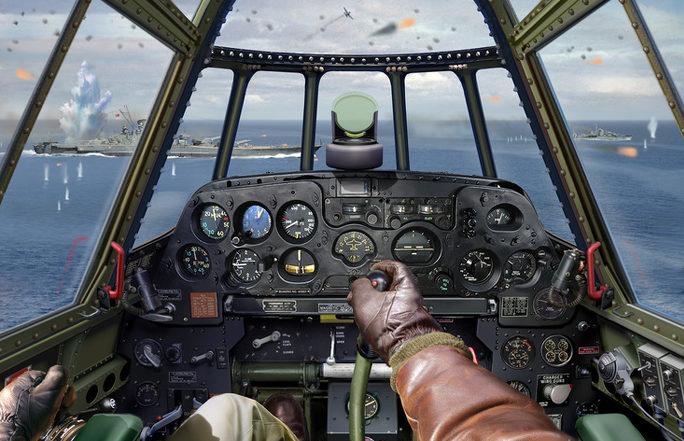 Laurier Jim. Атака торпедоносца на линкор «Yamato».