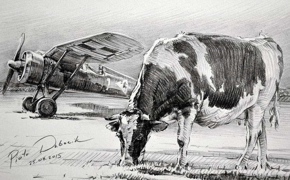 Dubowik Piotr. Истребитель PZL P-11.