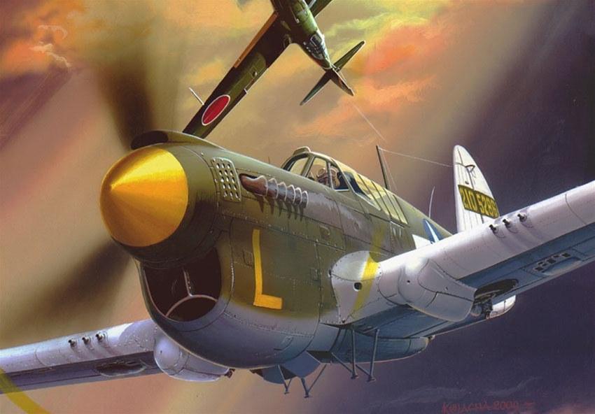 Kolacha Zbigniew. Истребитель P-40 «Warhawk».