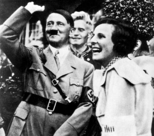 Лени Рифеншталь и Гитлер.