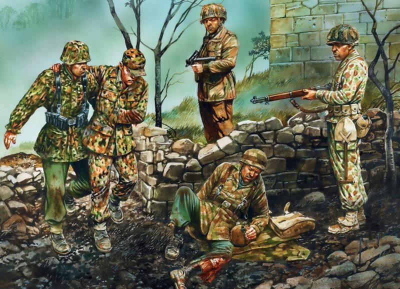 Dennis Peter. Немецкие десантники.