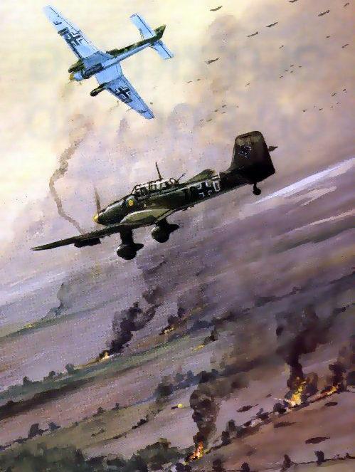 Hadler Terry. Атака Ju-87.