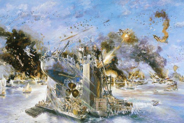 Swain Keith.Атака на порт Darwin.