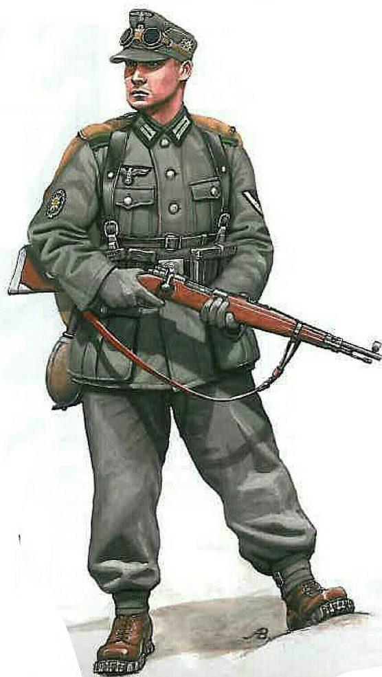 Bulczynki Arnold. Горный стрелок Вермахта.