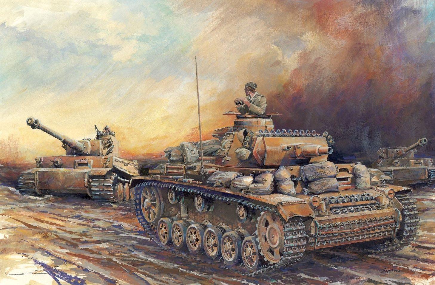 Jameson. Танк Pz.Kpfw. III Ausf. N.