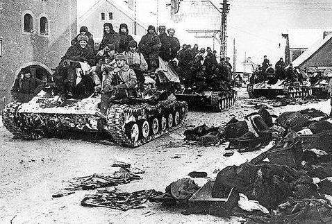 Красная армия на земле Восточной Пруссии. Январь 1945 г.