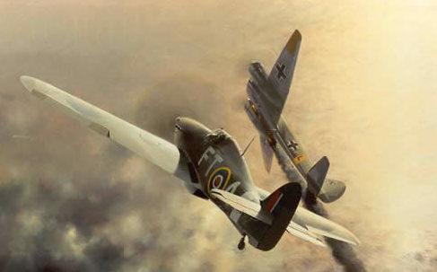 Thompson Charles. Воздушный бой.