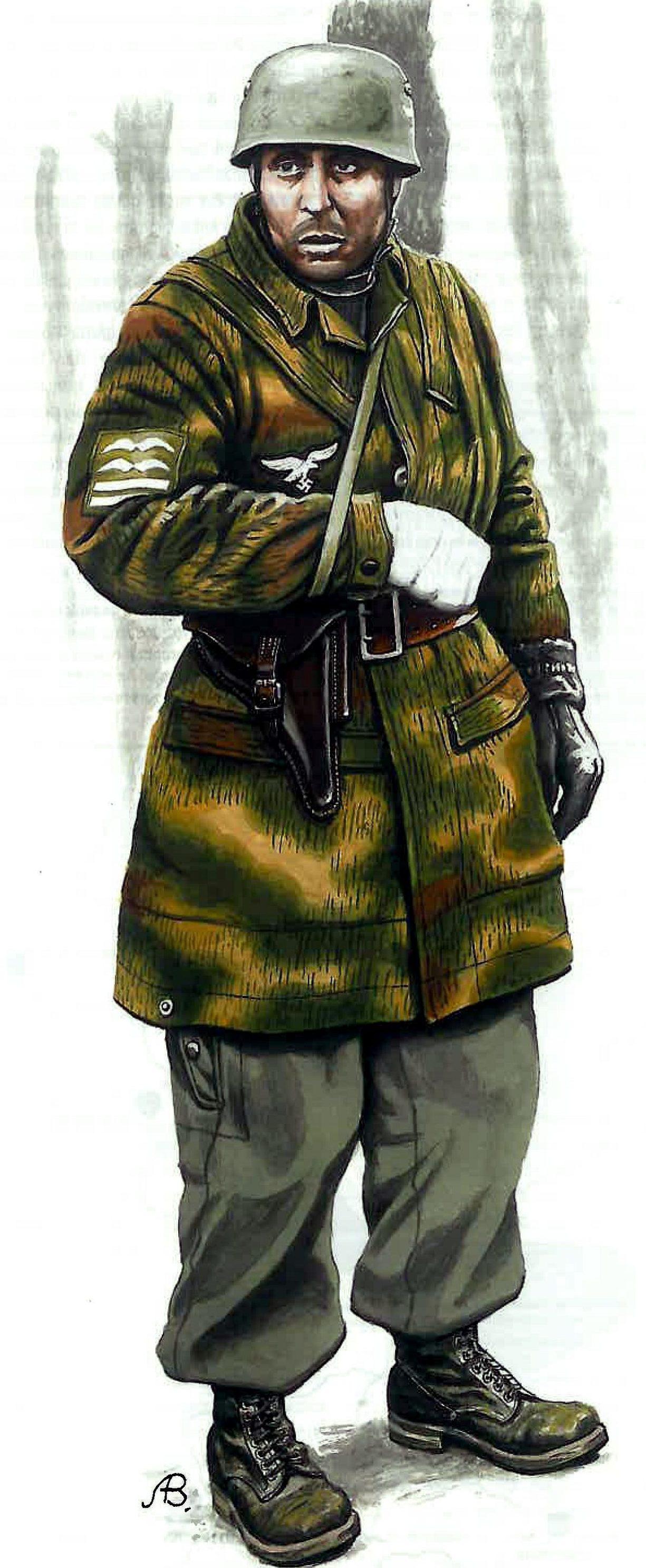 Bulczynki Arnold. Оберст-лейтенант парашютных частей Люфтваффе.