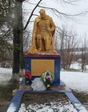 с. Перейма Балтского р-на. Братская могила советских воинов.