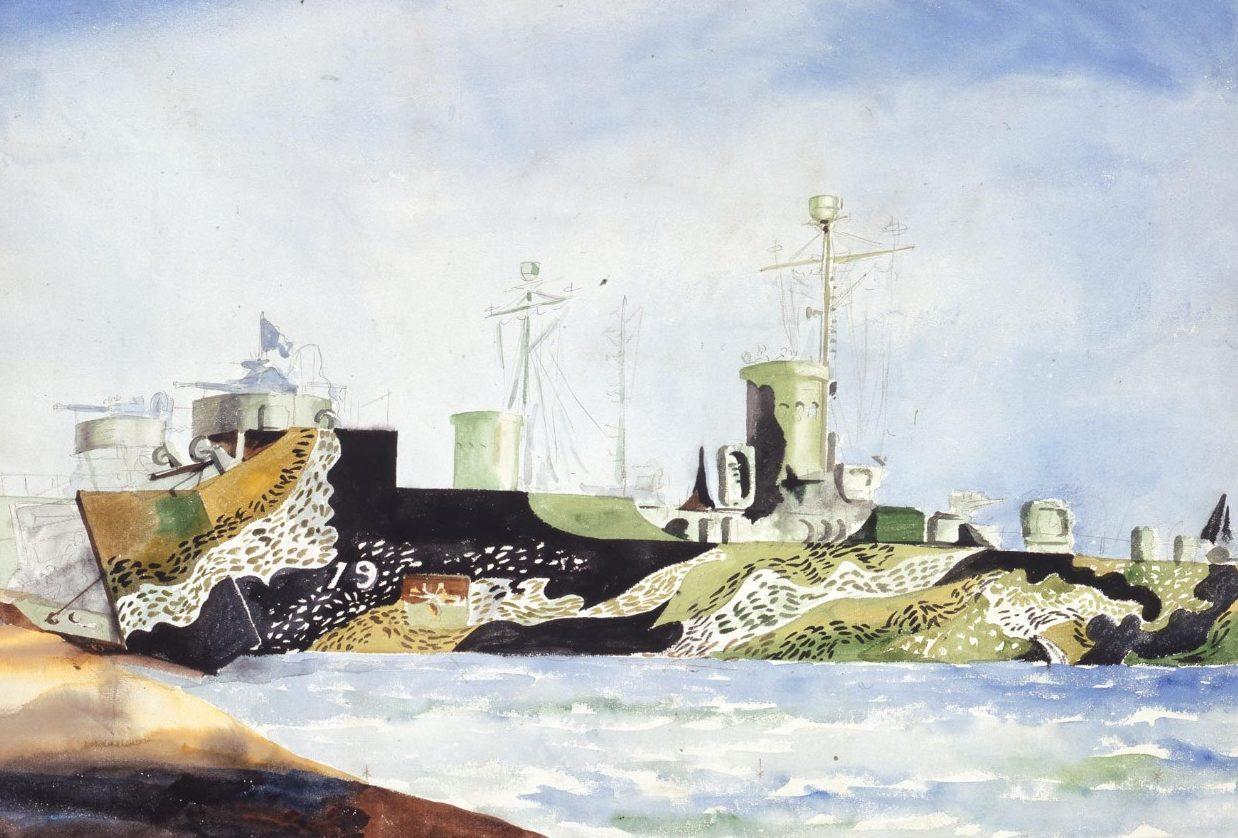 Marsh Reginald. Десантные корабли и боты.