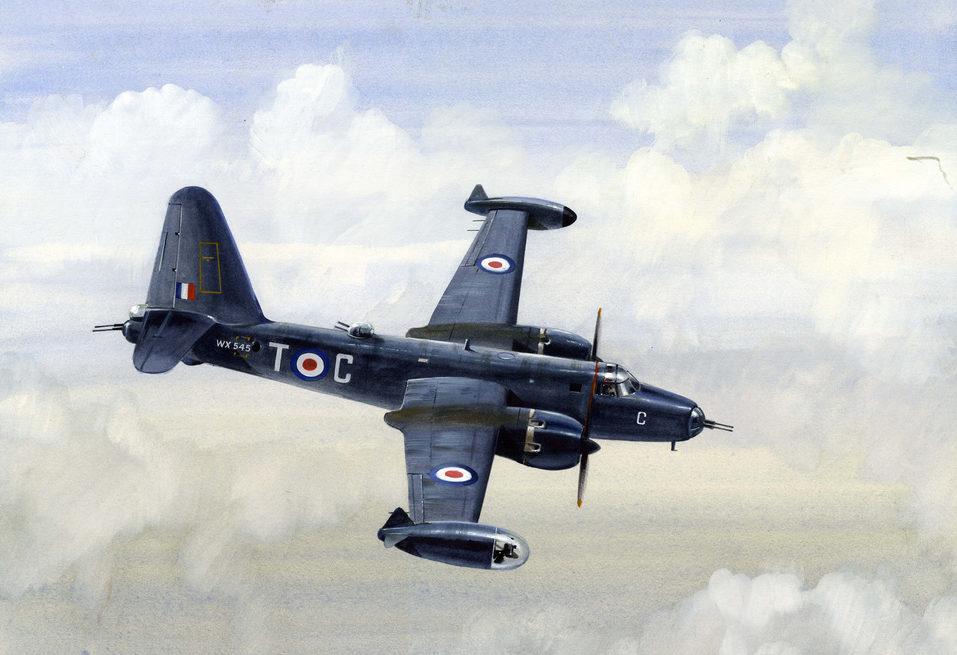 Robertshaw Bill. Патрульный самолет Lockheed P2V5 Neptune.