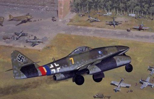 Woodcock Keith. Истребитель Ме-262.