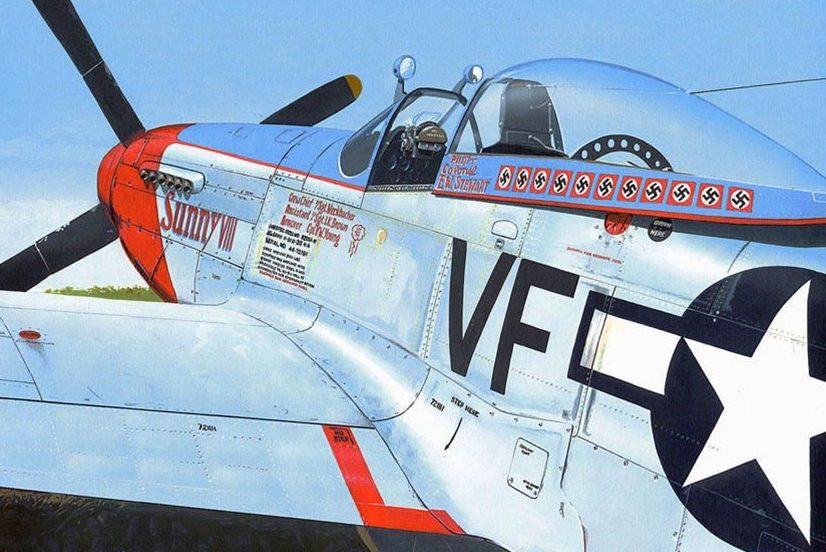 Kolacha Zbigniew. Истребитель P-51 «Mustang».