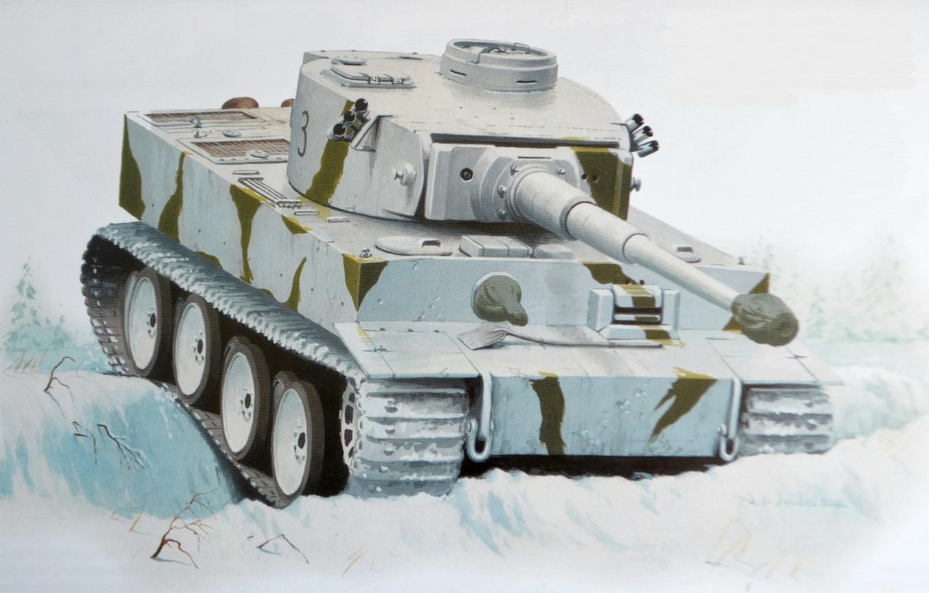 Wróbel Arkadiusz. Танк Panzer III.