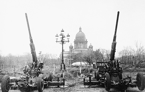 Зенитчики на страже Ленинградского неба. 1941 г.