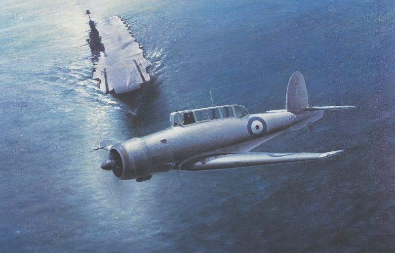 Thompson Charles. Палубный бомбардировщик Blackburn Skua.