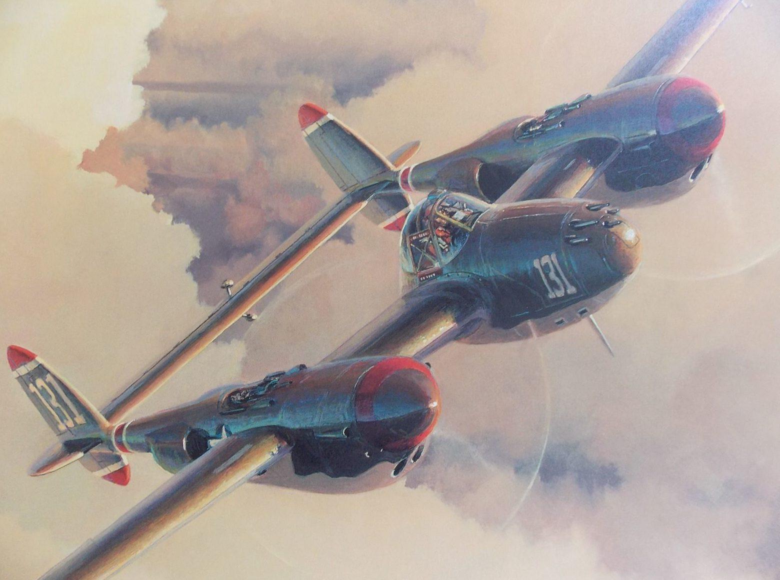Phillips William. Истребители – Р-38.