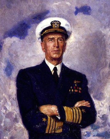 Barclay McClelland. Адмирал флота Ernest J. King.