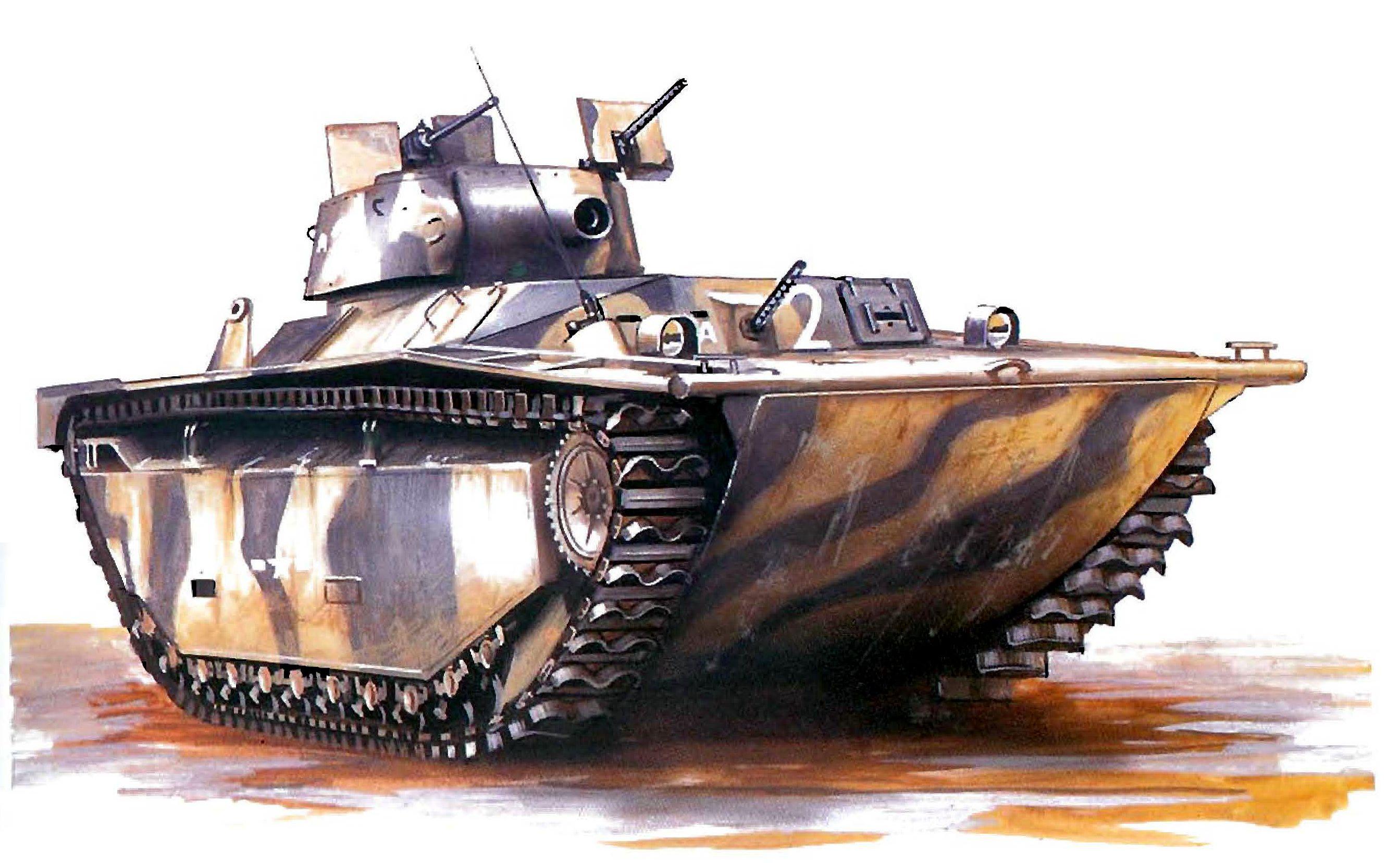 Hadler Terry. Десантный бот LVT-А4.
