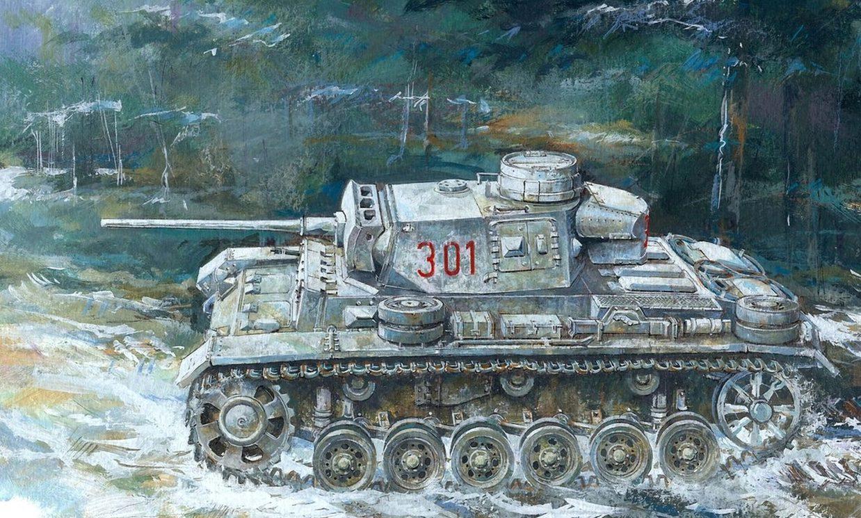 Jameson. Танк Pz.Kpfw.III Ausf. L.