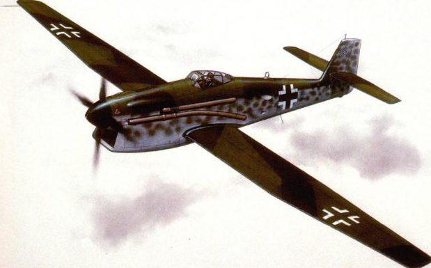 Woodcock Keith. Высотный истребитель Blohm und Voss BV-155.