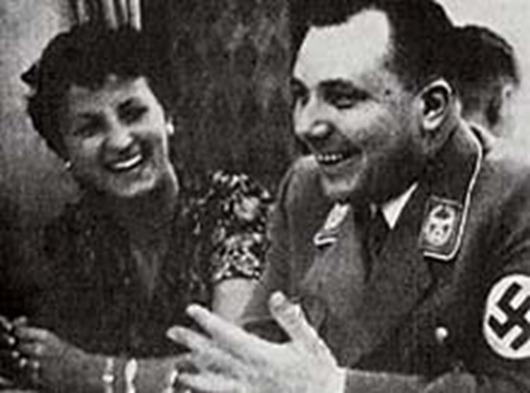 Герда и Мартин Борман.