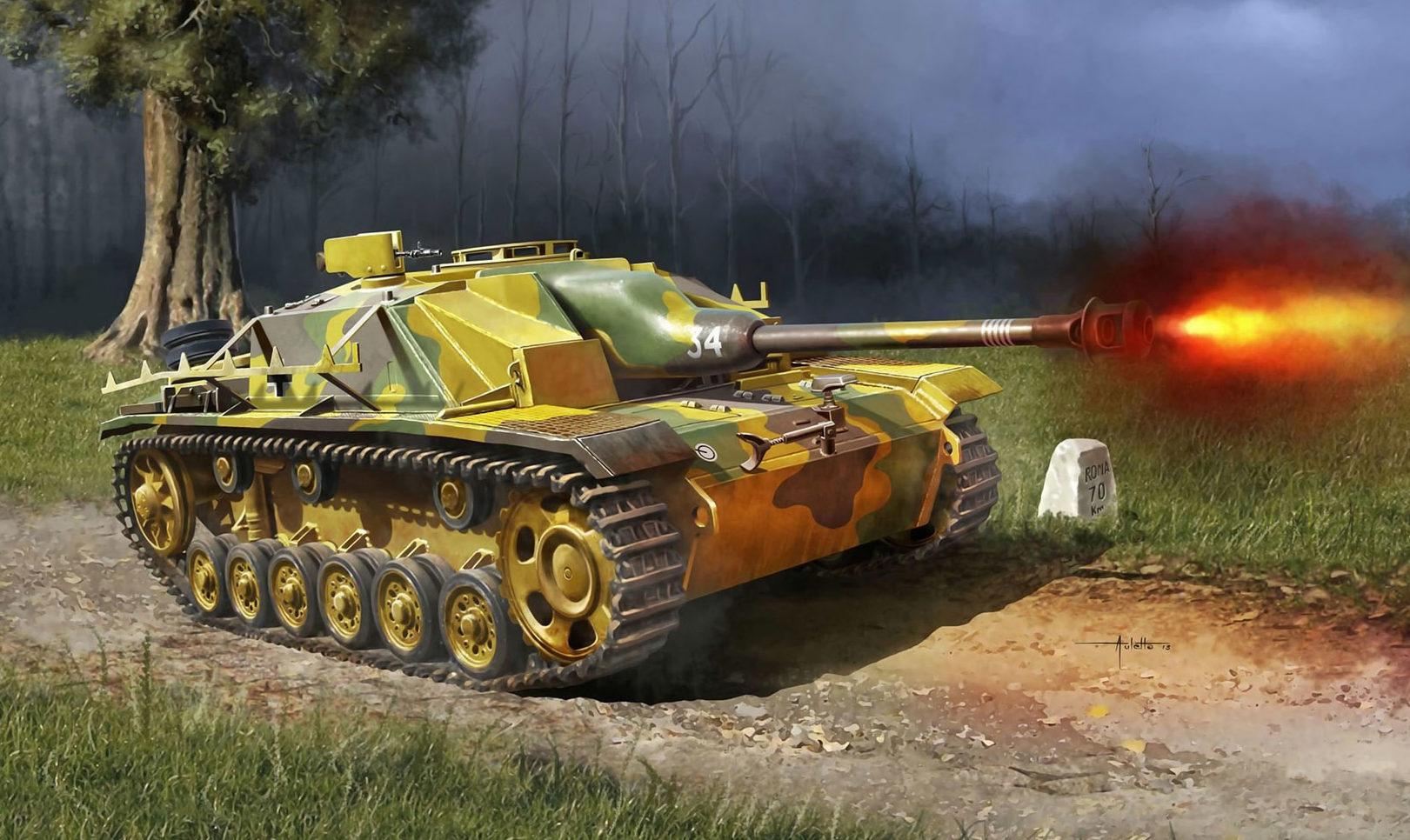 Auletta Vincenzo. САУ StuG. 40 Ausf. G.