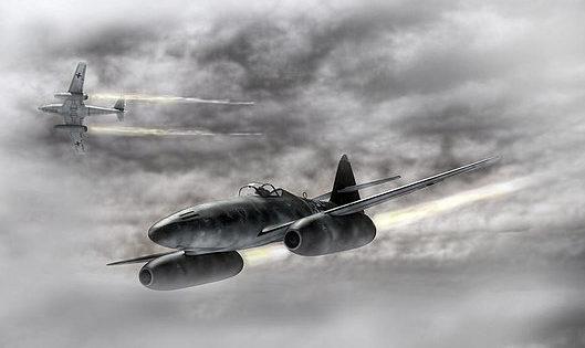 Chilelli Peter. Истребитель Ме-262.