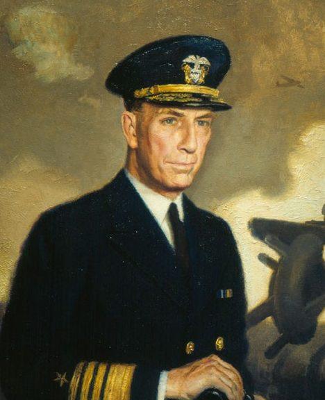 Barclay McClelland. Адмирал флота Royal E. Ingersoll.