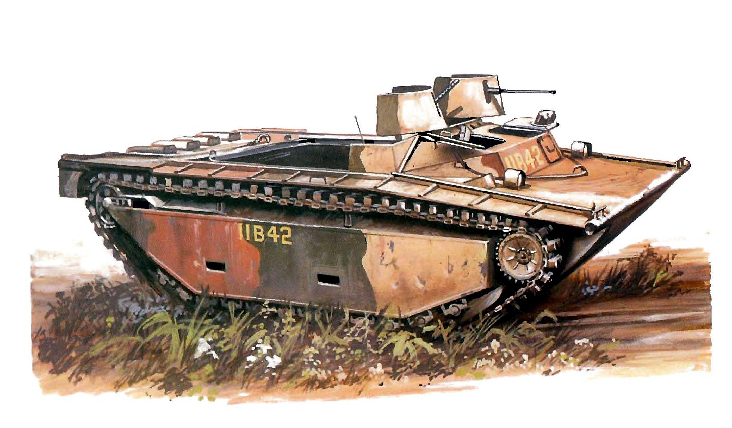 Hadler Terry. Десантный бот LVT-2.