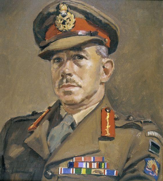 Mainwaring Geoffrey. Генерал-майор Kenneth Eather.