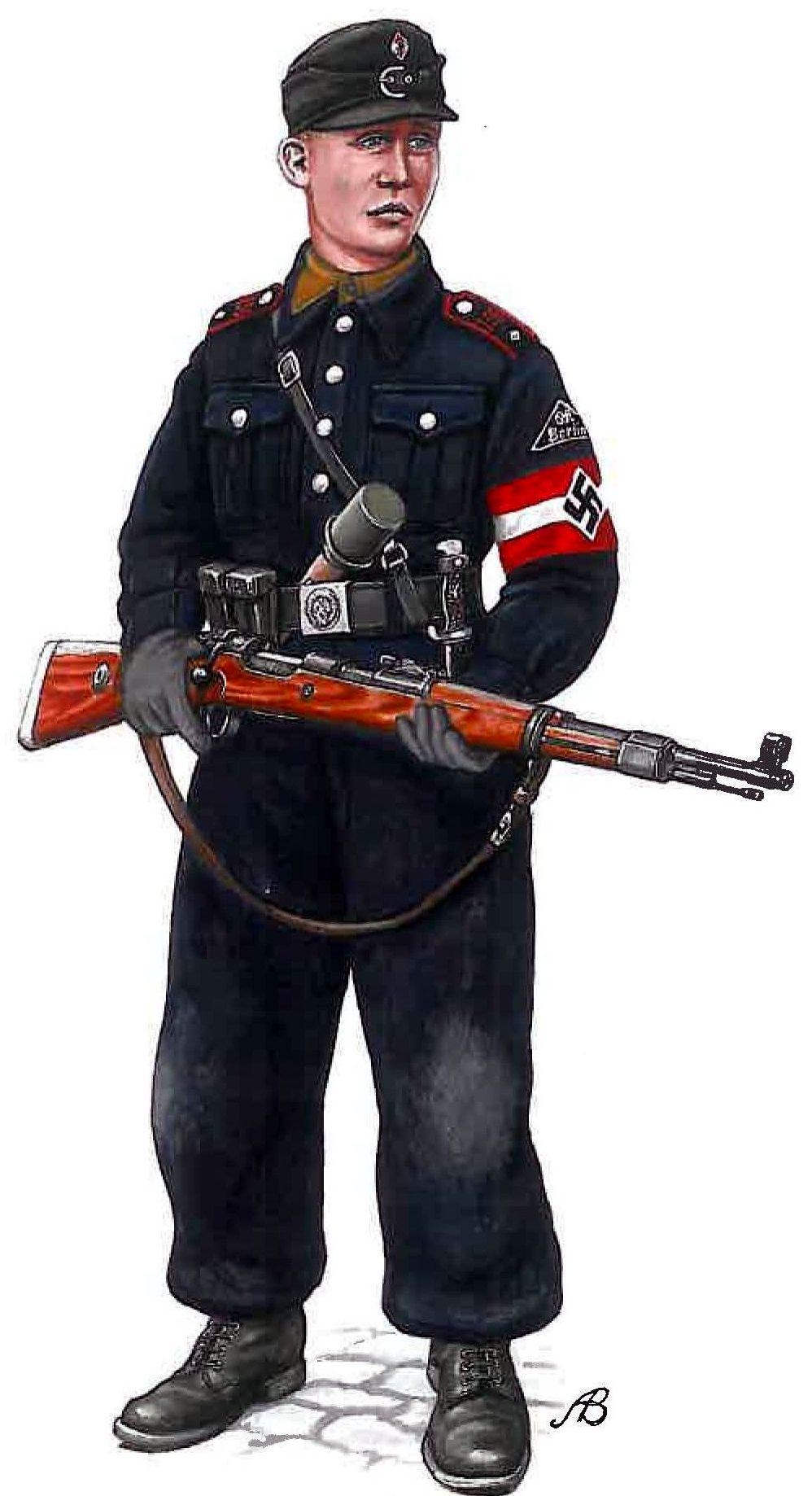 Bulczynki Arnold. Боец Гитлерюгенда.