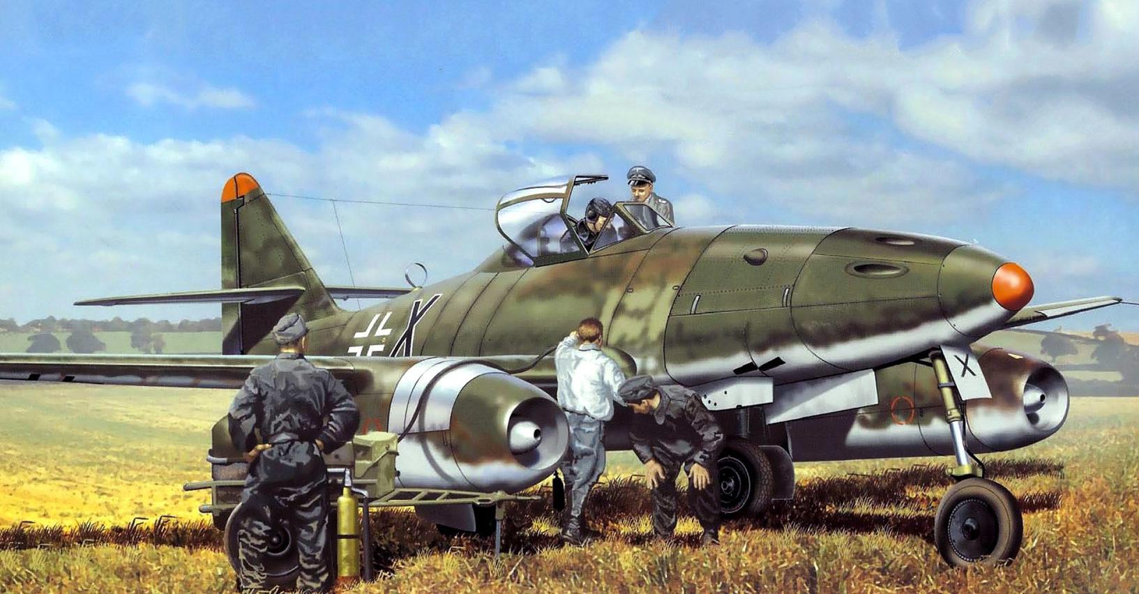 Greer Don. Истребитель Ме-262.