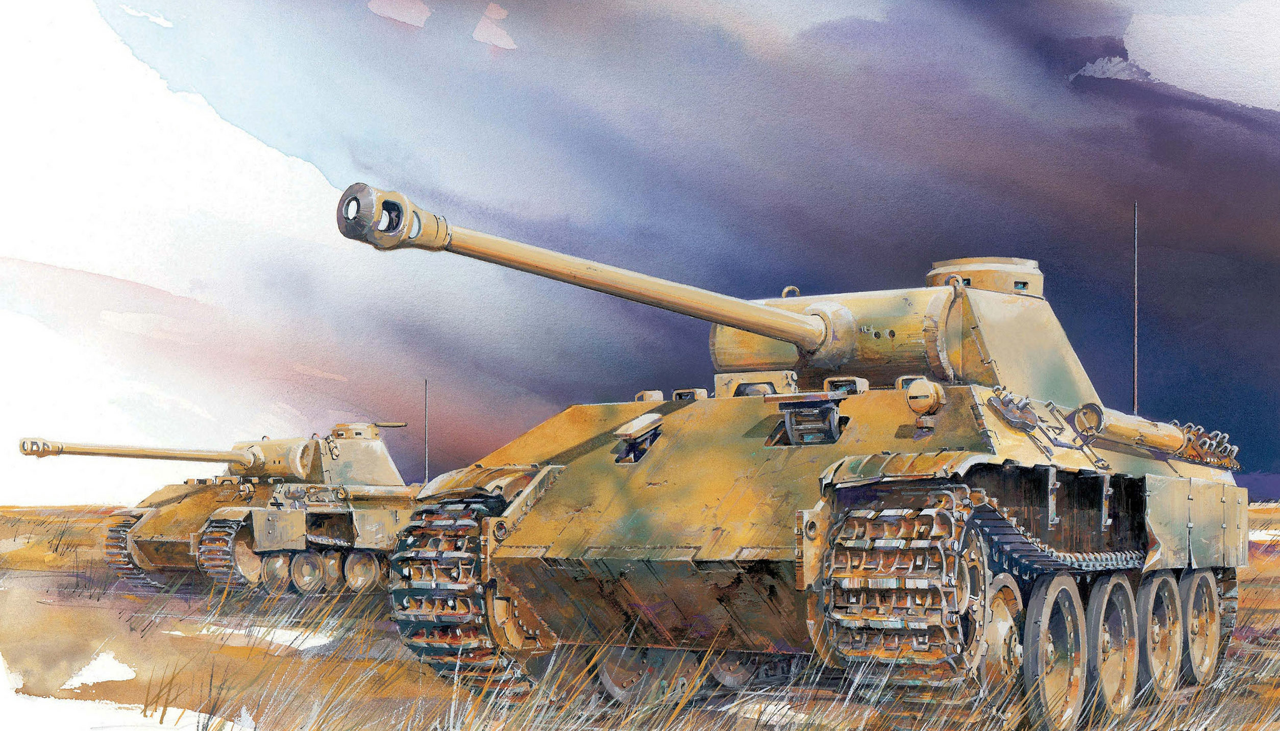 Jameson. Танк Panther Ausf. D.