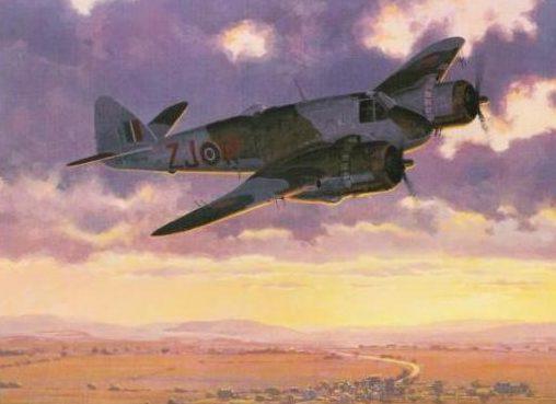 Woodcock Keith. Тяжелый истребитель Bristol Beaufighter Mk.VI.