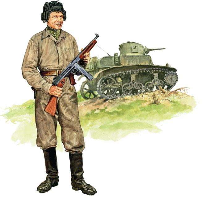 Szyzsko Marek. Советский танкист.