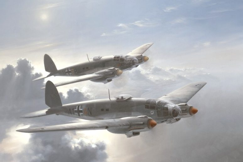 Thompson Charles. Бомбардировщики Не-111.