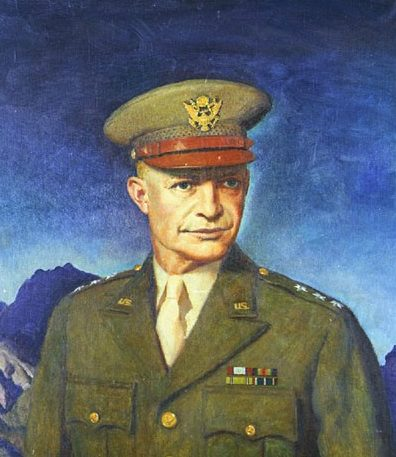 Barclay McClelland. Генерал Dwight D. Eisenhower.