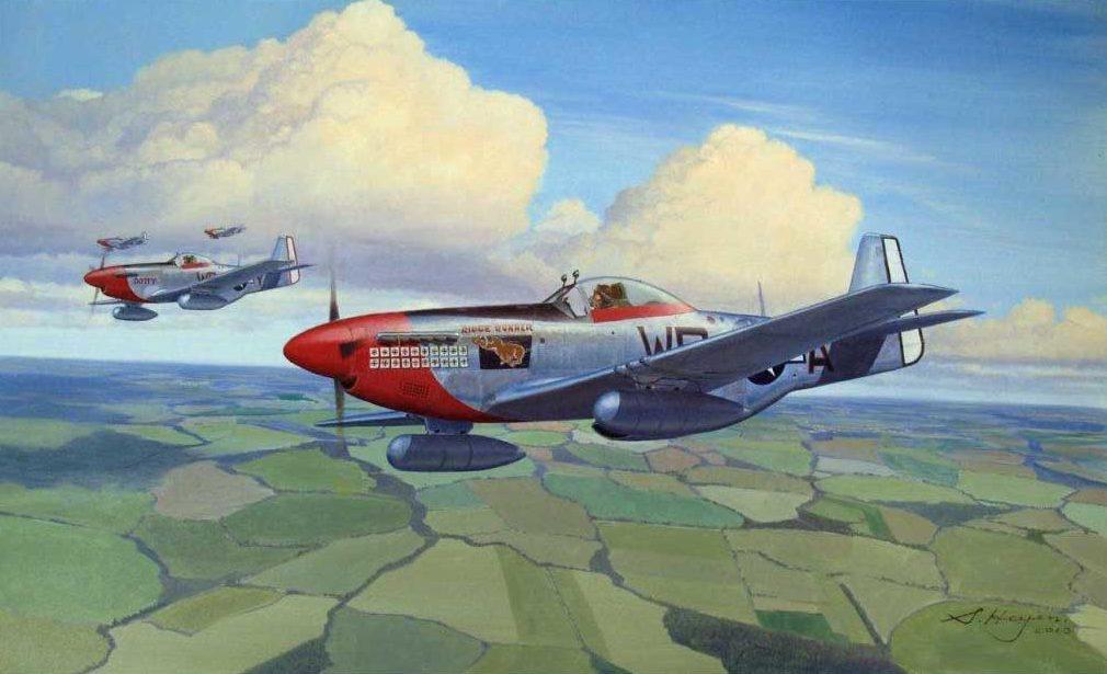 Heyen Steven. Истребители P-51D.