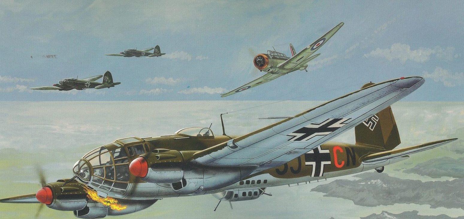 Greer Don. Бомбардировщик He-111.