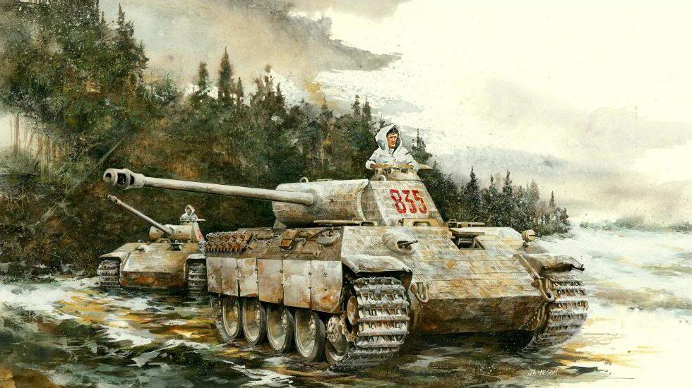 Jameson. Танк Panther Ausf. А.