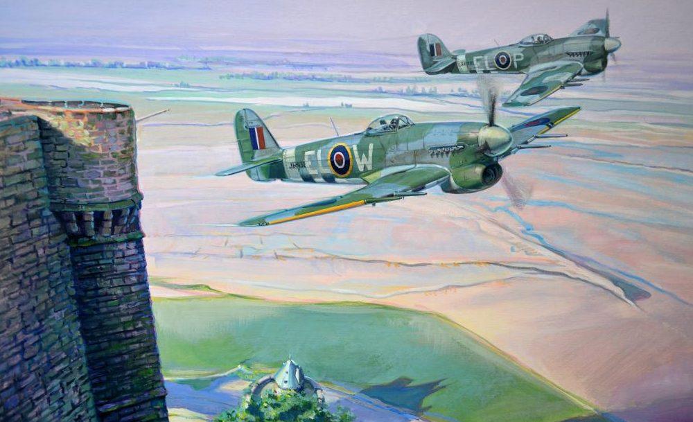 Dubowik Piotr. Истребители Hawker Typhoon.