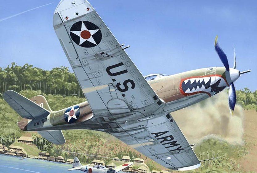 Kolacha Zbigniew. Многоцелевой истребитель P-400 Airacobra.
