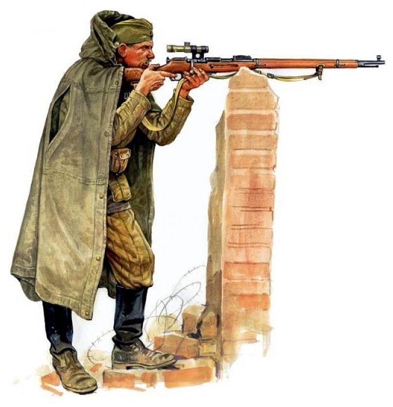 Szyzsko Marek. Советский снайпер.