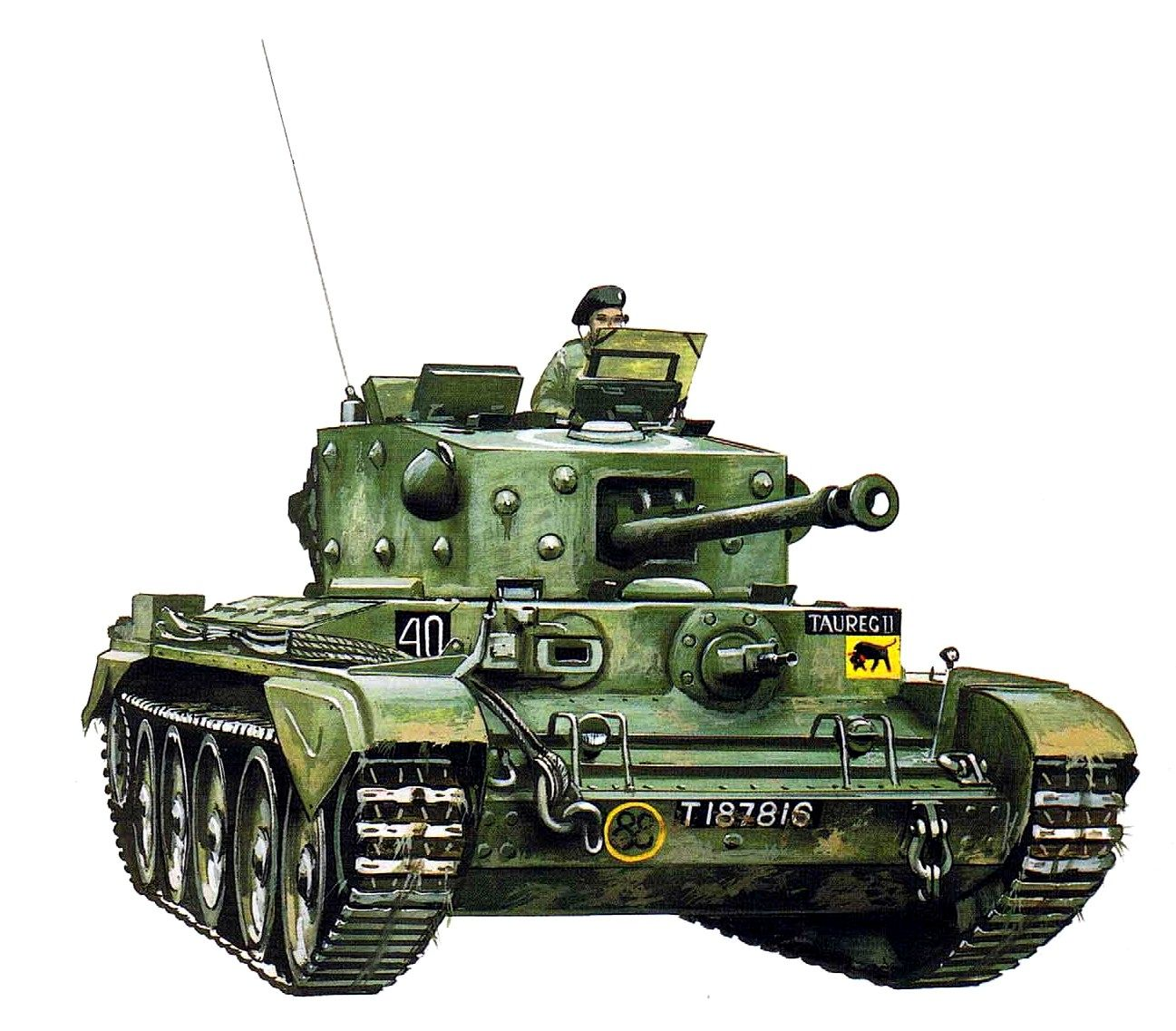Hadler Terry. Танк A-27M Cromwell Mk.IV.