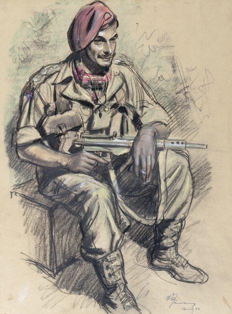 Mainwaring Geoffrey. Капитан Henry Nicholls.