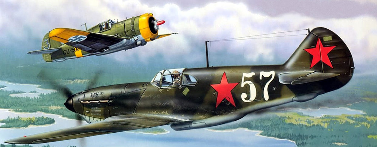 Greer Don. Истребитель ЛаГГ-3.
