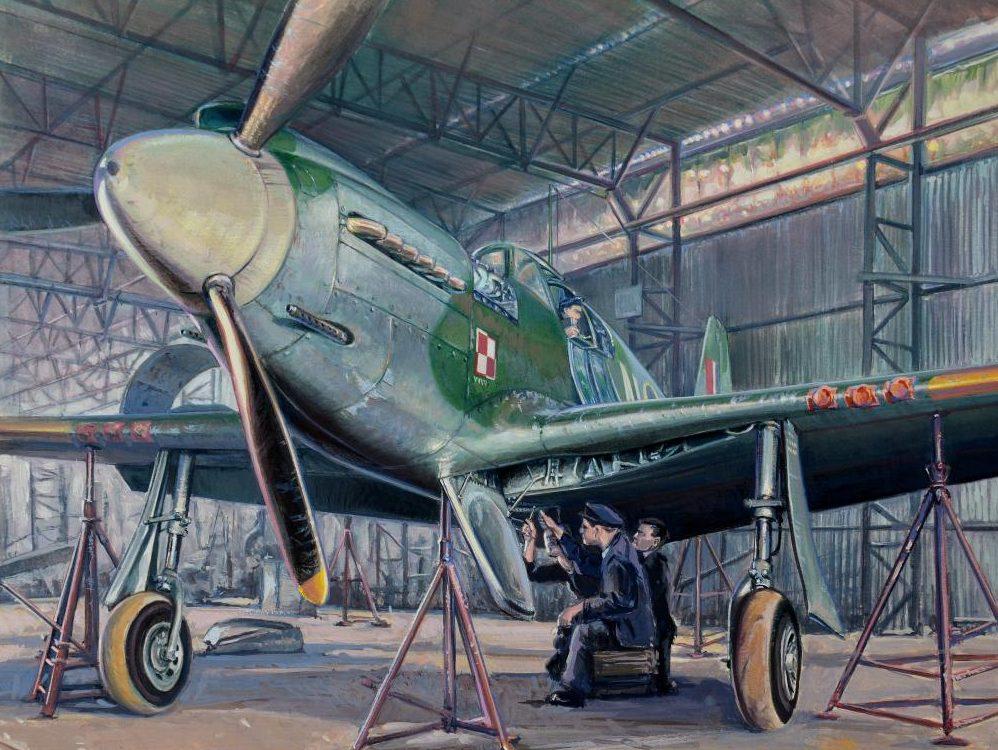 Dubowik Piotr. Истребитель Mustang Mk I..