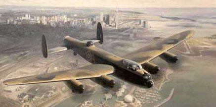 Thompson Charles. Бомбардировщики Lancaster.