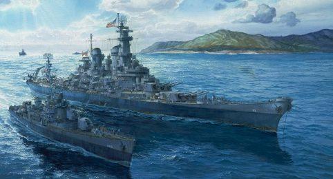 Freeman Tom. Флот в Атлантике.